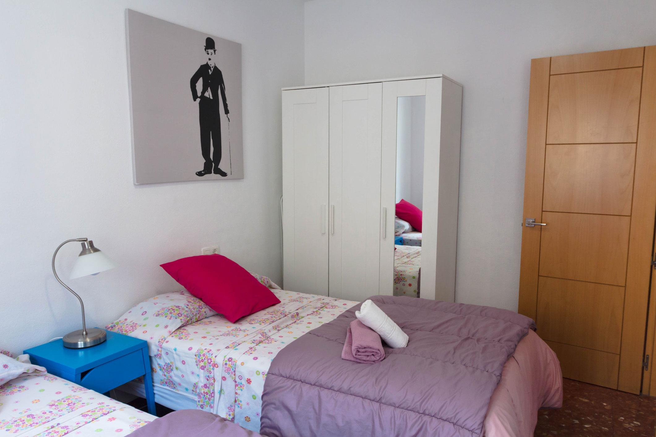 Apartamento de un dormitorio en Apartamentos Marqués de Guadiaro 1 en Málaga