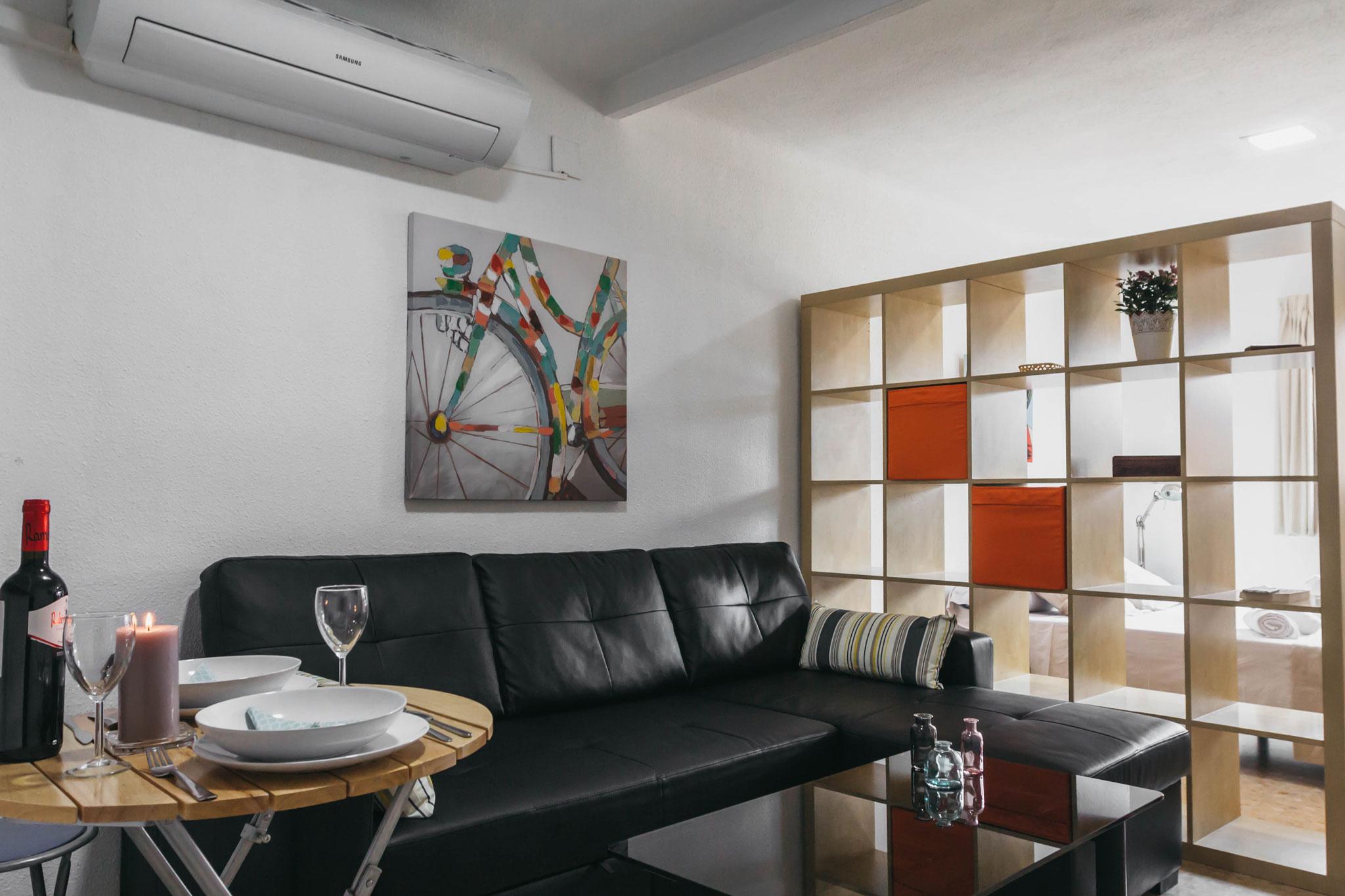 Estudio en Apartamentos Marqués de Guadiaro 1 en Málaga